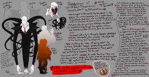 (Concept Sheet) OOF's Slenderman