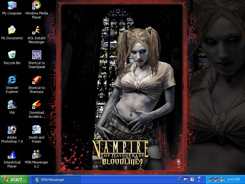 My Desktop by VampyricKiss