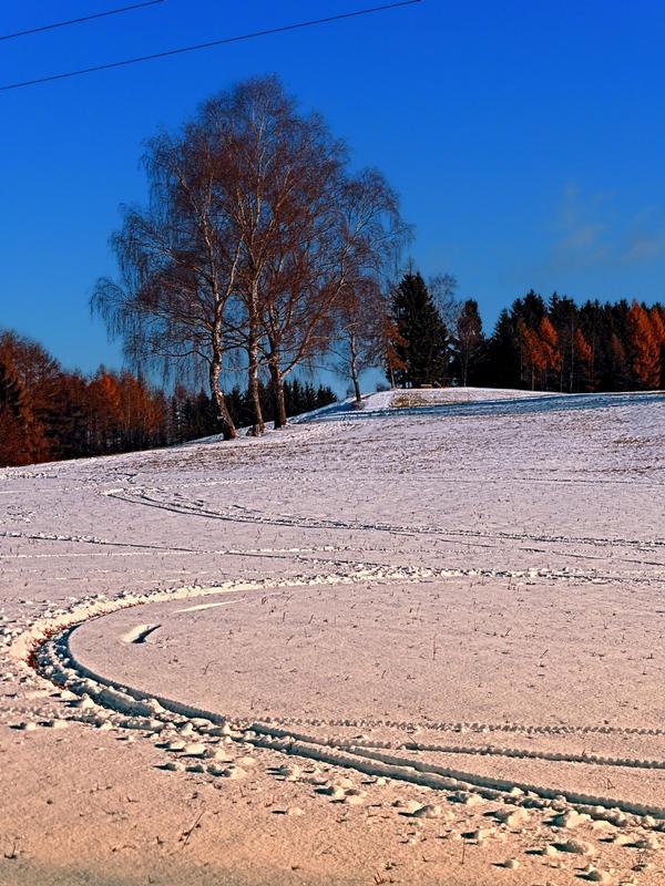 Hiking through winter wonderland III by patrickjobst