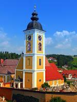 The village church of Niederwaldkirchen II by patrickjobst