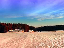 Amazing vivid winter wonderland by patrickjobst