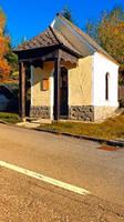 Chapel along the road
