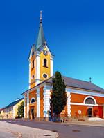 The village church of Alberndorf in der Riedmark 2 by patrickjobst