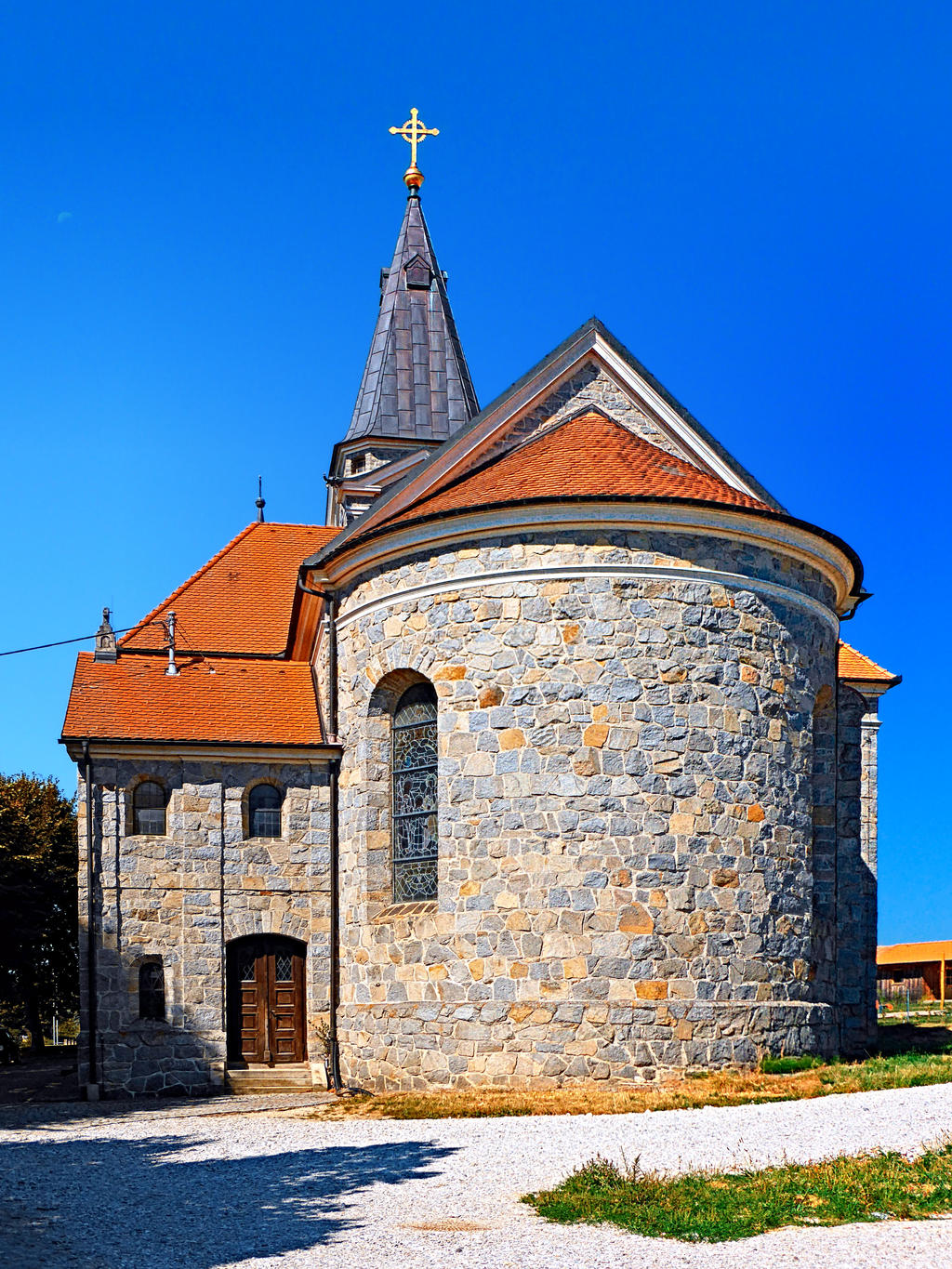 The village church of Eggendorf by patrickjobst