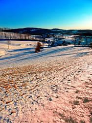 Smooth hills in winter wonderland by patrickjobst