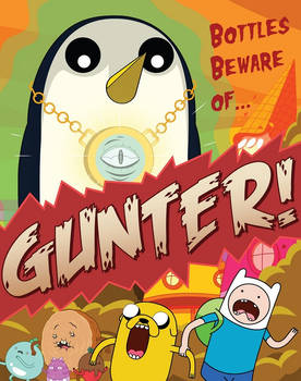 Adventure Time: Bottles Beware of Gunter!