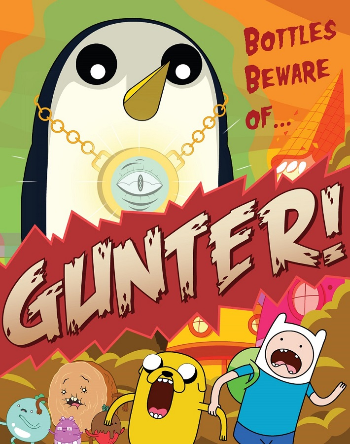 Adventure Time: Bottles Beware of Gunter! by awr8305