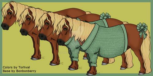 OPEN Adoption: Flaxen Chestnut Shetland Pony