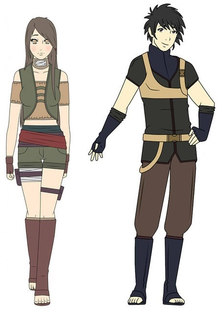Toki Senju and Mizu Uchiha by george3222 on DeviantArt