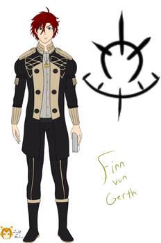 Fire Emblem THs OC - Finn von Gerth
