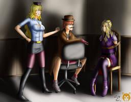 Interrogation of Violet Godwin