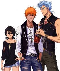 Hot Trio Berry: GrimmIchiRuki by Naru-Nisa