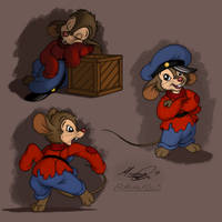 Fievel Sketches