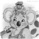 Blinky Bill and Fievel by MaxieM0us3