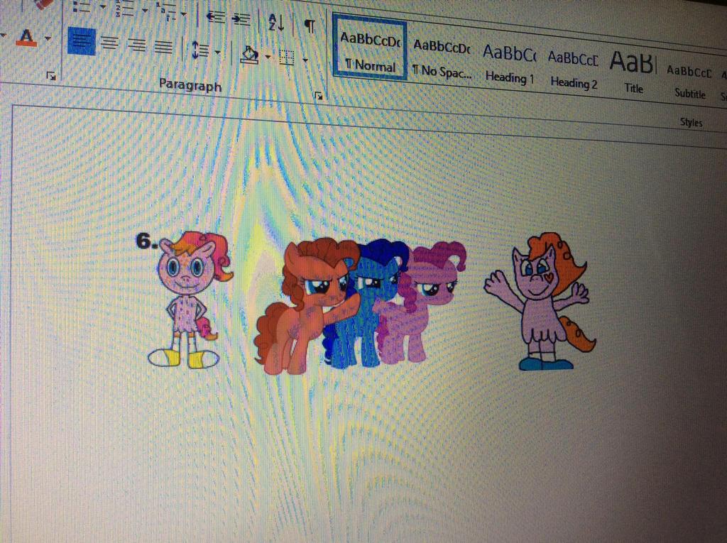 Pinkie Pie and Wander's 5 beautiful kids by Lilbob2000