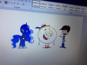 The Luna crew