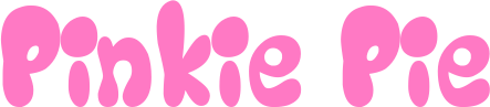 Pinkie Pie's name in WoY Style