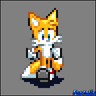 Tails Sonic Adventure 1 sprite by FoxTails
