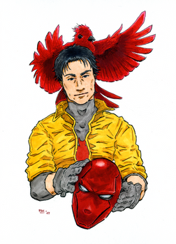 Fan Art - Red Hood (Jason Todd)