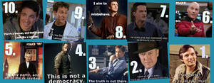 Top 10 Favorite Male TV Characters