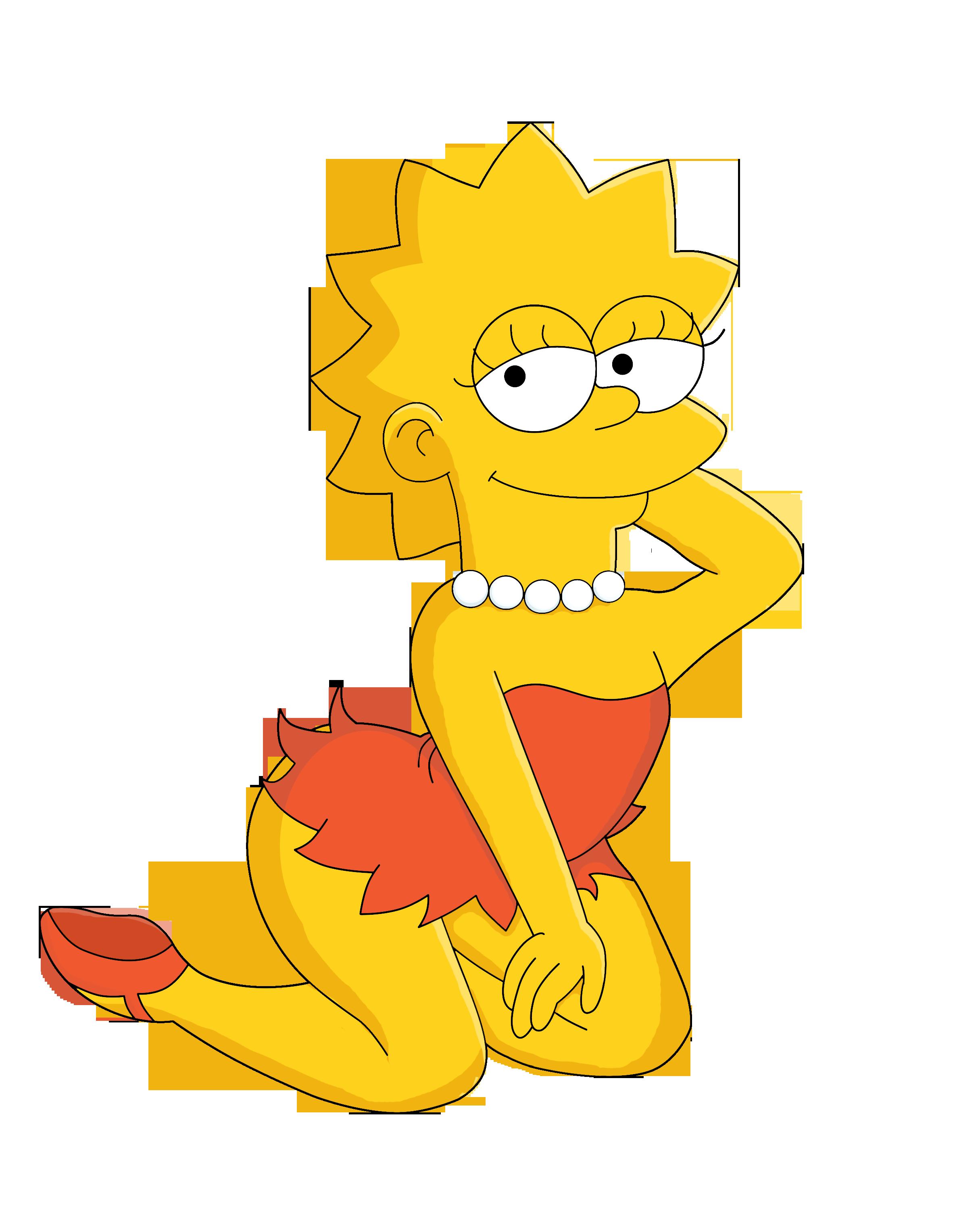 Simpson naked lisa lisa simpson