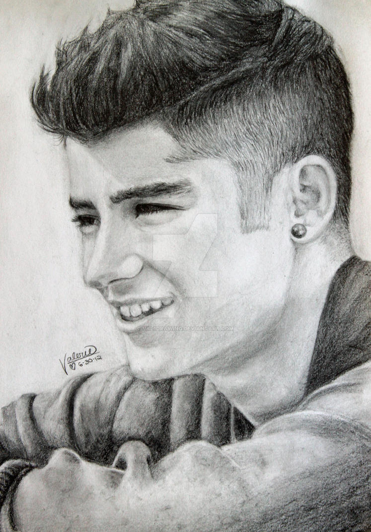 One Direction Drawing Zayn Malik D By Val1drawing On Deviantart