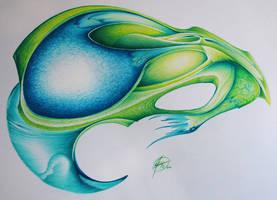 Green Facet 2 by Jade-Kitten