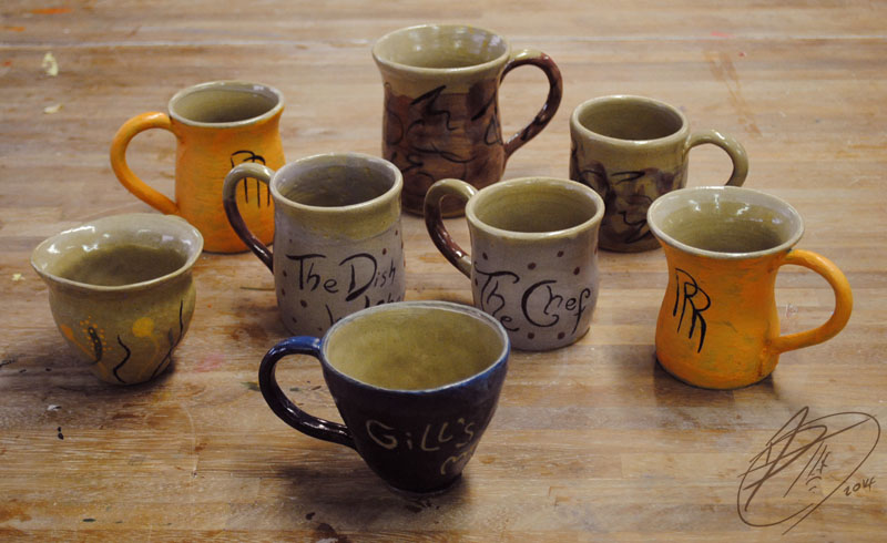 Macmillan Mugs by Jade-Kitten