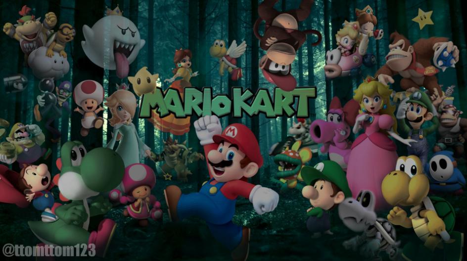 Mario Kart 8 Wallpaper: Mario Kart 8 Poster/Wallpaper By Ttomttom123 On DeviantArt