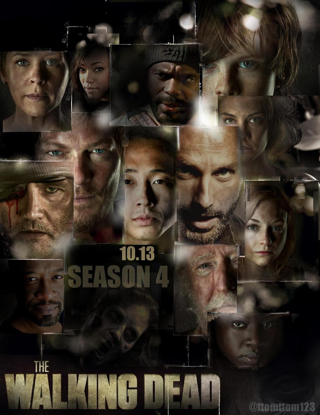 The Walking Dead - 4ª Temporada Completa [AVI / MKV - HDTV + 720p - Dual Áudio] - Torrent