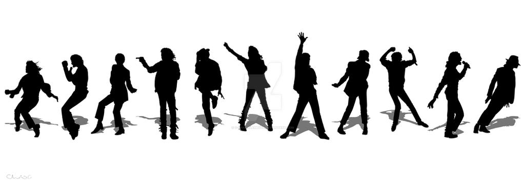 michael jackson silhouettes by c charalambous
