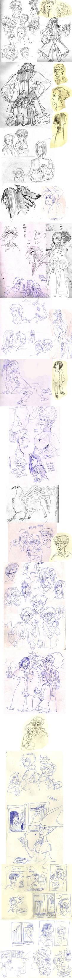 harry potter sketchdump