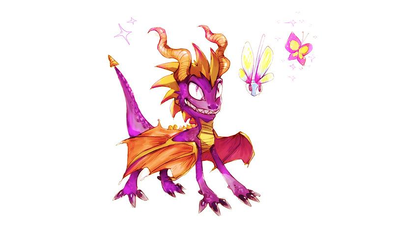 spyro the dragon by muura