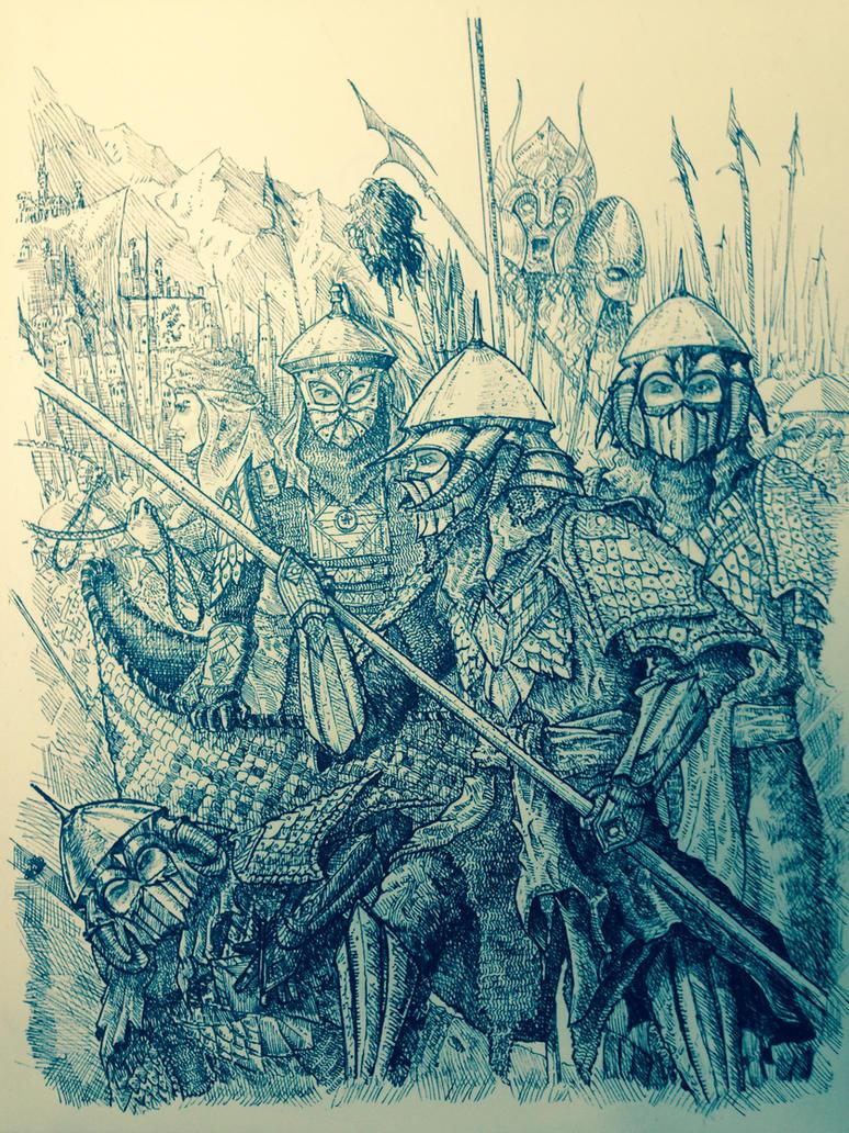 The wainrider invasion. by DracarysDrekkar7