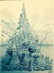 MINAS TIRITH (TOL SIRION). by DracarysDrekkar7