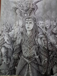 The last stand (ecthelion) . by DracarysDrekkar7