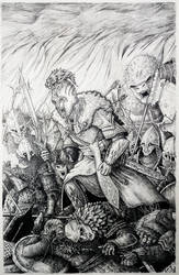 Hurin  (Nirnaeth Arnoediad) by DracarysDrekkar7