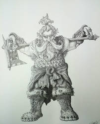 9th age  Dwarf  (warhammer Dwarf concept ) by DracarysDrekkar7