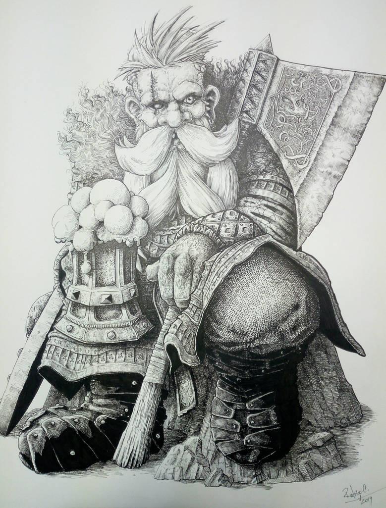 9th age  Norse Dwarf  (warhammer ) . by DracarysDrekkar7