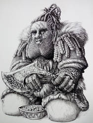 9th age  Ethiopian Dwarf  (warhammer) by DracarysDrekkar7
