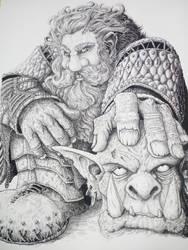Hittite Dwarf (warhammer 9th age. ) by DracarysDrekkar7