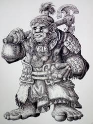 Islander  Dwarf (Warhammer 9th age  ) by DracarysDrekkar7