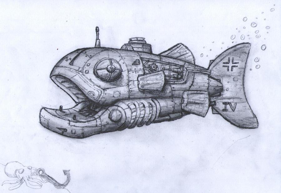Iron Fish by DaftPanzerUK