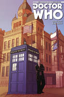9th Doctor miniseries variant cover by JakeEkiss