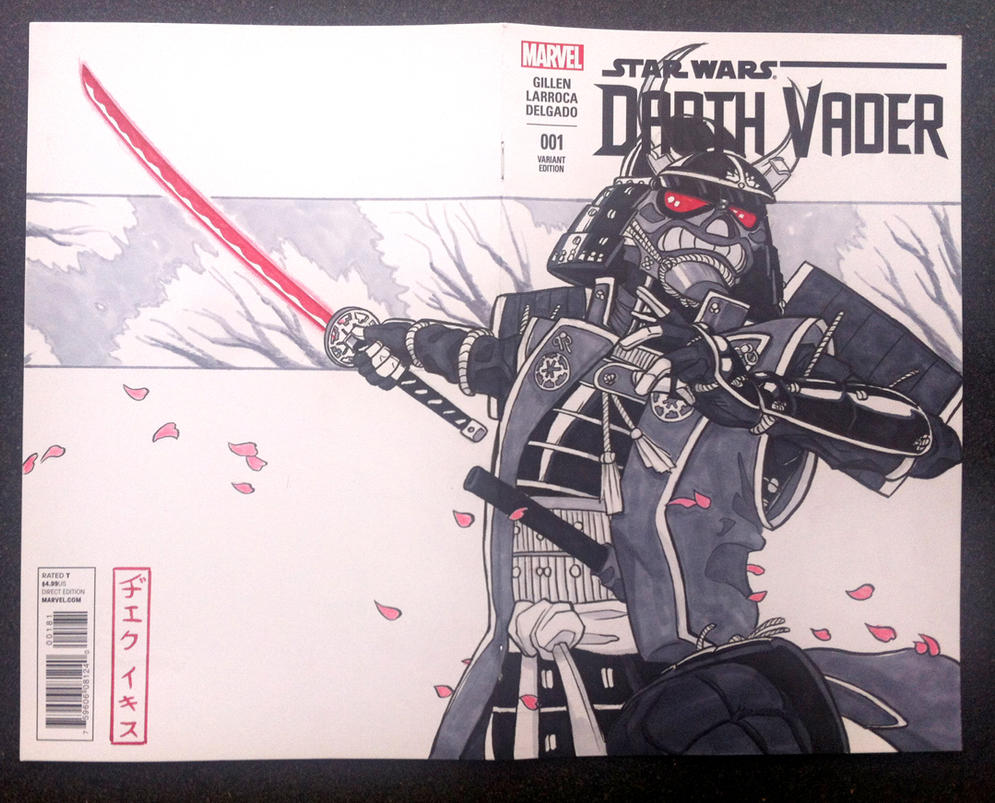 Vader Sketch Cover by JakeEkiss