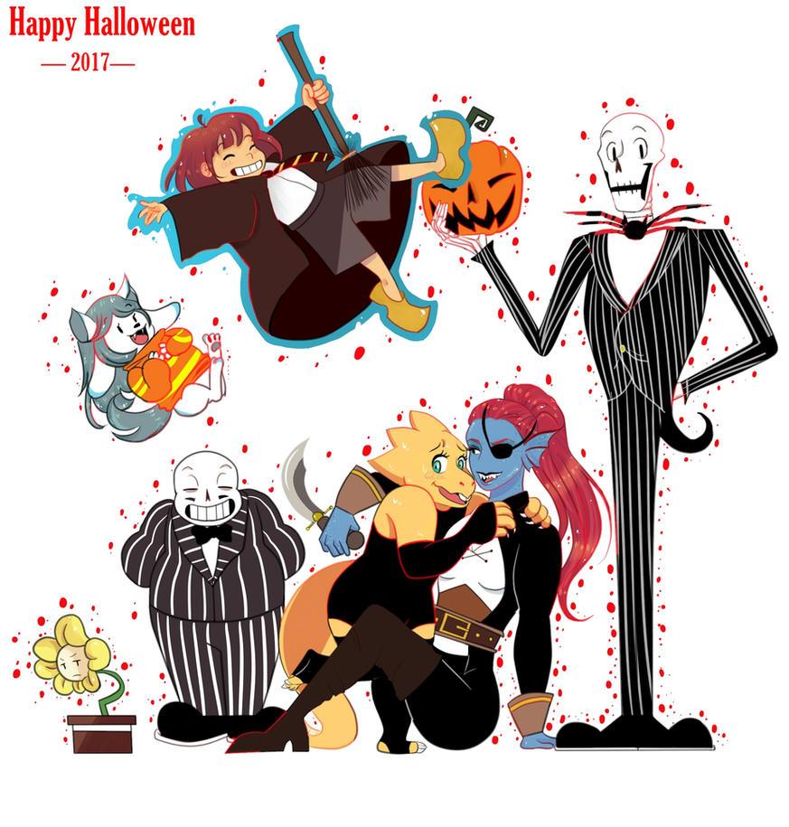 UNDERTALE - Happy Halloween by MrsBuffoonery on DeviantArt