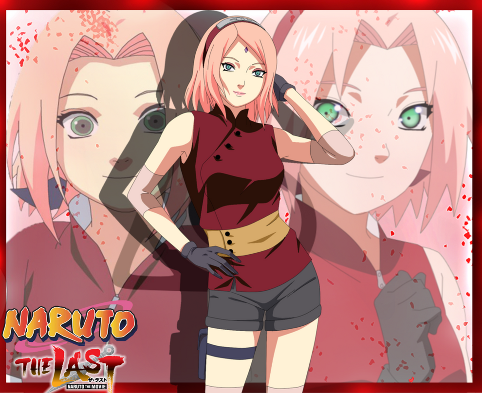 Naruto Movie the Last: Haruno Sakura by ioana24 on DeviantArt