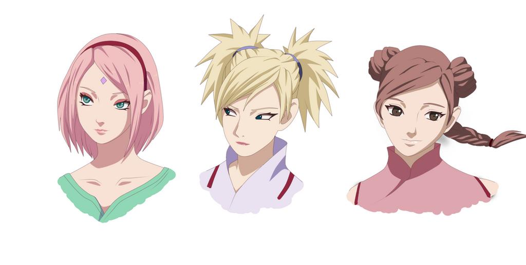 Last Movie: Sakura, Temari, Tenten by ioana24 on DeviantArt