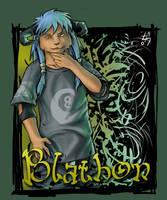 Blathon Badge by DavidStrife