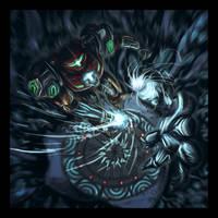 Phaaze Fight by DavidStrife